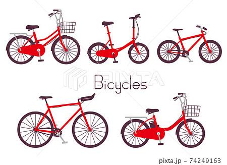 いろんな種類の自転車 74249163