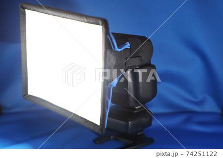 クリップオンストロボに汎用ディフェーザーの光 74251122
