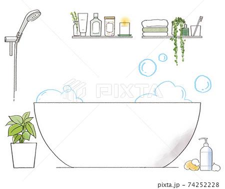 リラックスバスルームset_お湯なし 74252228