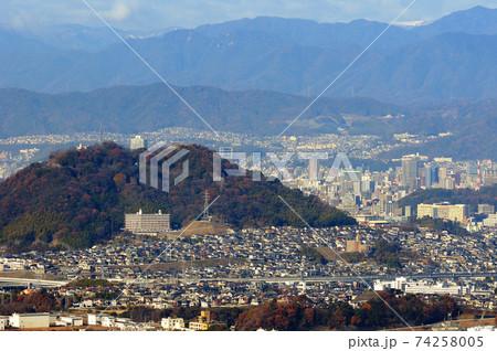 広島県広島市矢野町 愛宕神社からの眺望 74258005