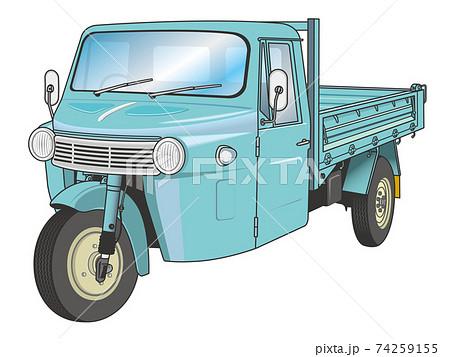 昭和のオート三輪 74259155