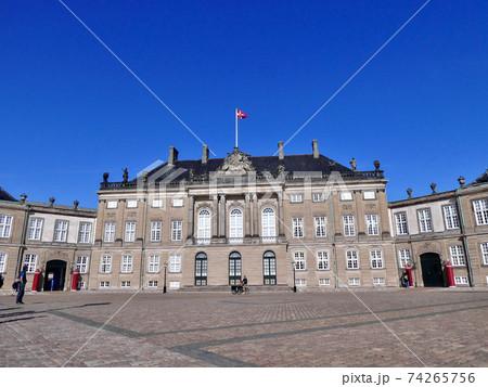 コペンハーゲンのアマリエンボー城 74265756