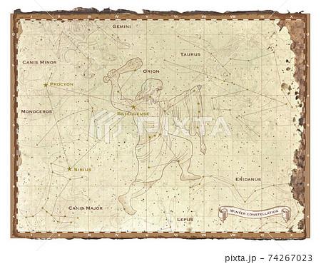 冬の星座map 74267023