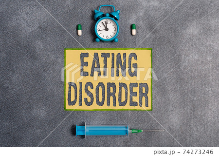 Word writing text Eating Disorder. Business 74273246