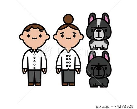 人と犬 74273929