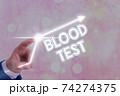 Word writing text Blood Test. Business concept for 74274375