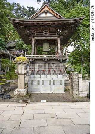 北向観音境内 鐘楼と梵鐘(上田市) 74289076