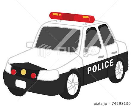 パトカーのイラスト 74298130