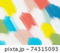 油絵の背景 模様 アブストラクト 74315093