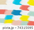 油絵の背景 模様 アブストラクト 74315095