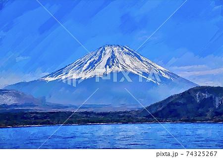 日本・富士山の風景 74325267