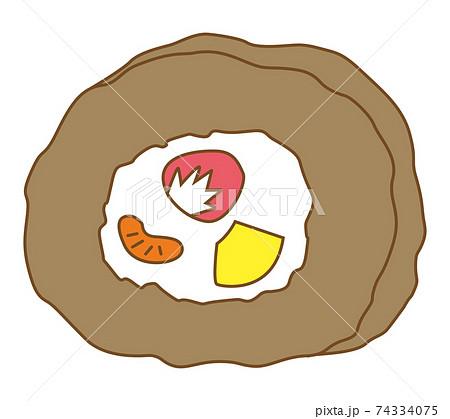 ロールケーキ チョコ 74334075