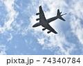 大空を翔る海上自衛隊のP-1哨戒機 74340784