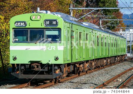 奈良線 103系  74344844