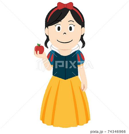 白雪姫のイラスト 74346966