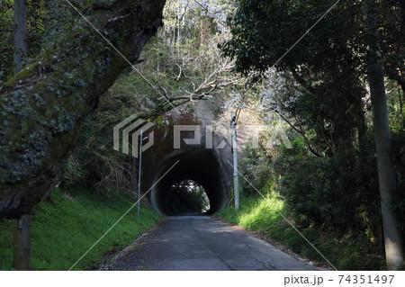 手掘りトンネル 74351497