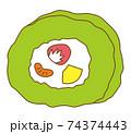 ロールケーキ 抹茶 74374443