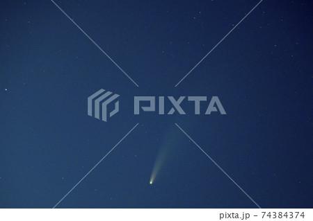 ネオワイズ彗星 74384374