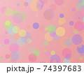 光の漂う背景 バブル ボール アブストラクト 74397683