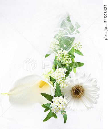 白系の花束 74398422