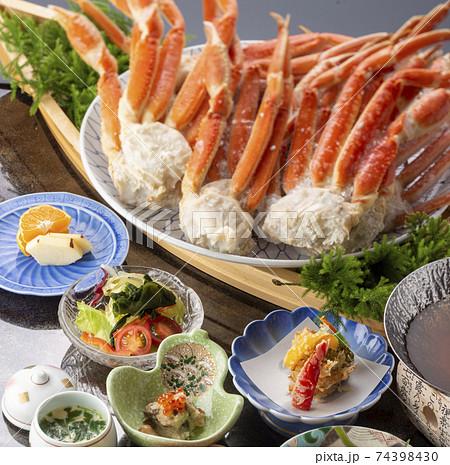 蟹 ズワイガニ 足 食べ放題  74398430
