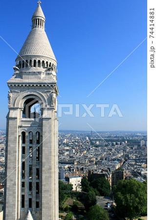 モンマルトルから撮影したパリ街の風景 74414881