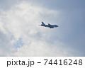 大空を翔る海上自衛隊のP-1哨戒機 74416248