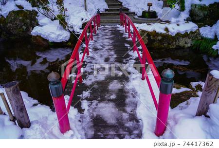 定義山西方寺の橋(宮城県仙台市) 74417362