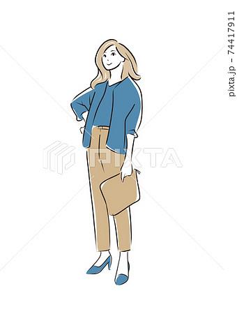 女性ファッション 74417911