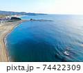 空撮・和歌山県「志原海岸」 74422309