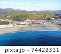 空撮・和歌山県「志原海岸」 74422311