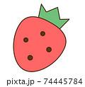 イチゴ 74445784