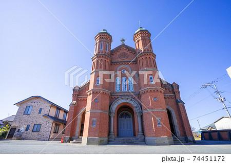 今村カトリック教会(今村天主堂) 福岡県三井郡大刀洗町 74451172