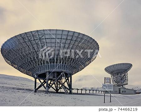 最北の北極圏にあるオーロラ観測所、オーロラの観測機関 74466219