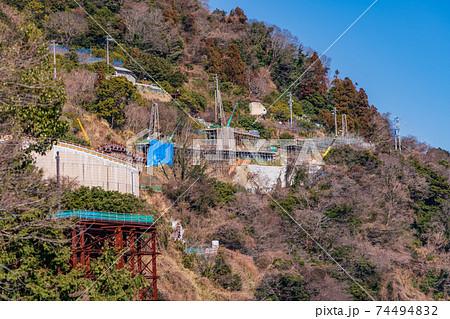(静岡県)薩埵峠の地滑り補強工事 74494832