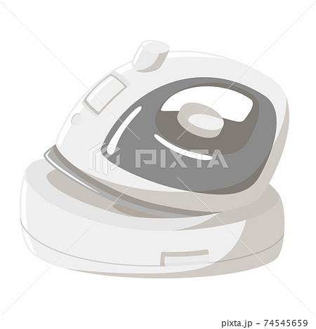 コードレスアイロン(充電中) 74545659
