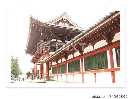 フィルム写真 奈良 東大寺 74546342