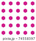 Pink vector geometric background, abstract design for poster, brochure template 74558397