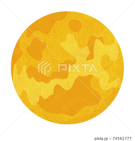 金星のイラスト 太陽系惑星 手書き風 74562777