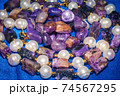 Charoite and pearls 74567295
