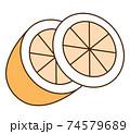 オレンジ 74579689