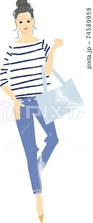 女性 バッグ ファッション 74589959