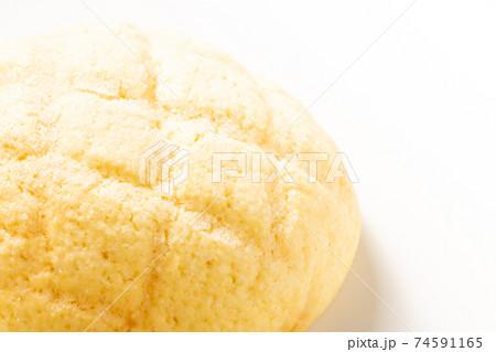 メロンパン。(白バック) 74591165