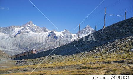 スイス・マッターホルン ゴルナーグラート鉄道 74599831