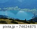 ヴォルフガング湖, ザルツカンマーグート, オーストリア 74624875