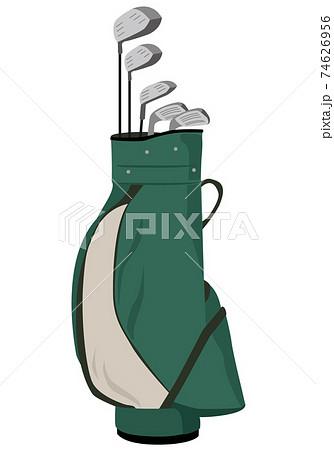グリーンカラー(緑色)のゴルフクラブセット 74626956