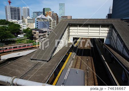 聖橋から見る御茶ノ水駅(東京都千代田区) 74636667