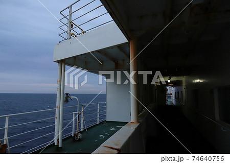 フェリーさんふらわあしれとこ 船上の風景 74640756