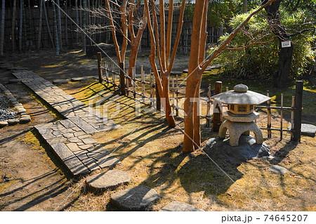 2月 府中235茶室「梅欅庵」・府中市郷土の森博物館 74645207