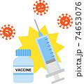 ワクチン 予防接種 74653076